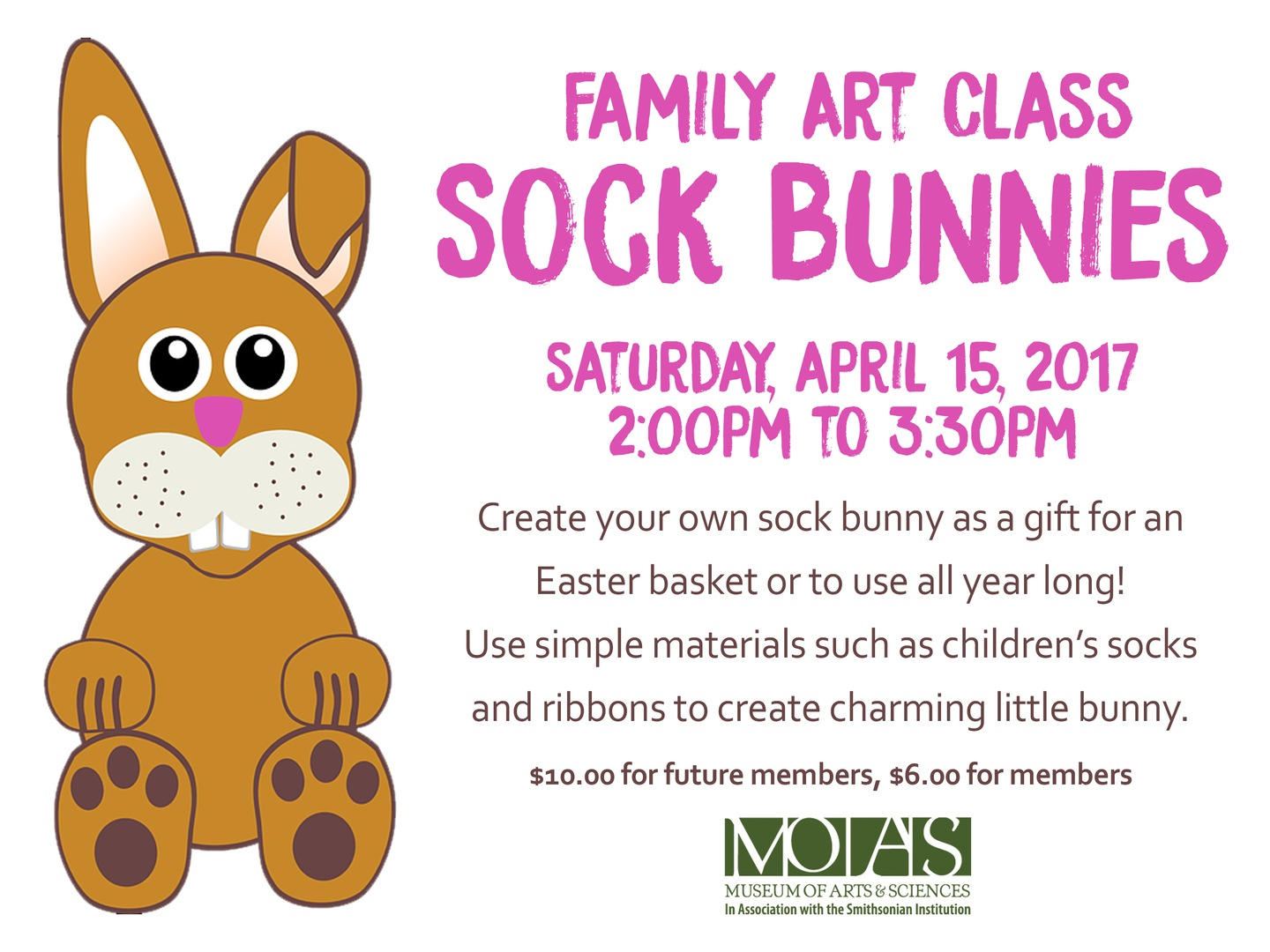 Family art class sock bunnies view larger images negle Image collections