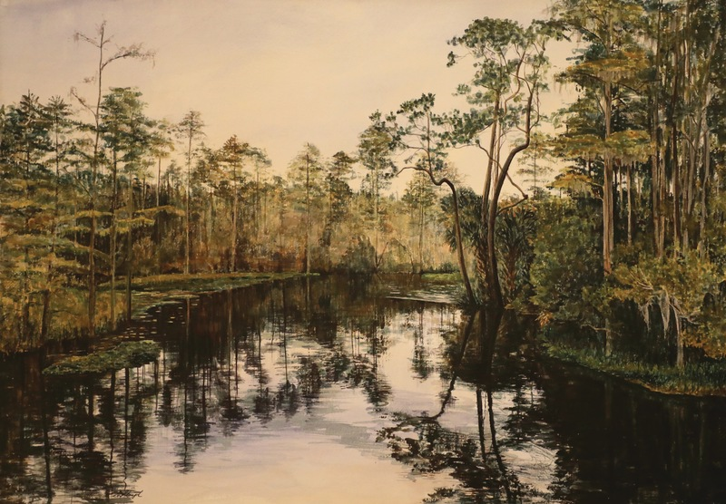 Volusia Wilderness Captured: Florida Paintings by Sandra Lloyd