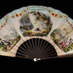 East Meets West: Decorative Hand Fans from Europe and China in the Collection