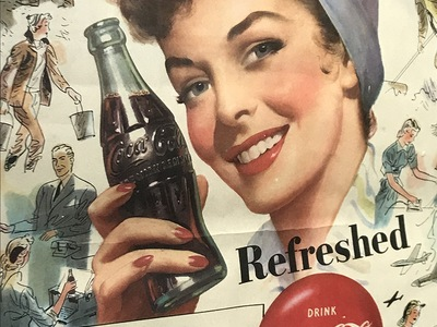 Delicious and Refreshing: Over 100 Years of Coca-Cola Advertising Calendars