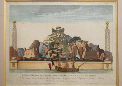 European Fireworks in the 18th and 19th Century