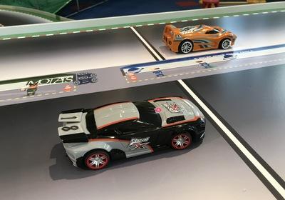 Robo-Car Race Track