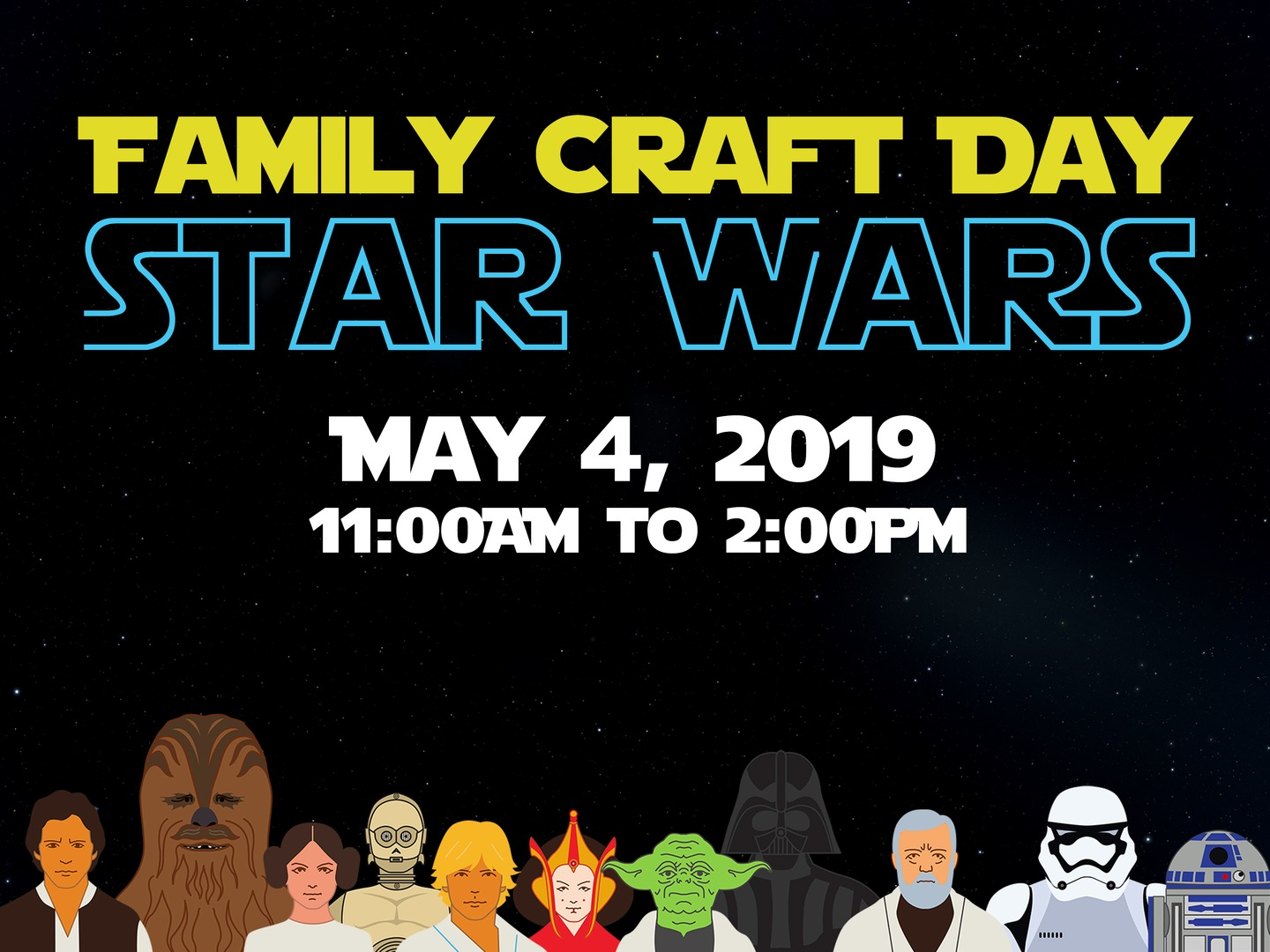 Family Craft Day: Star Wars